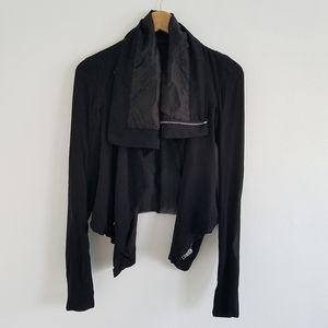 Rick Owens Silk Olmar & Mirta Spa Crop Jacket